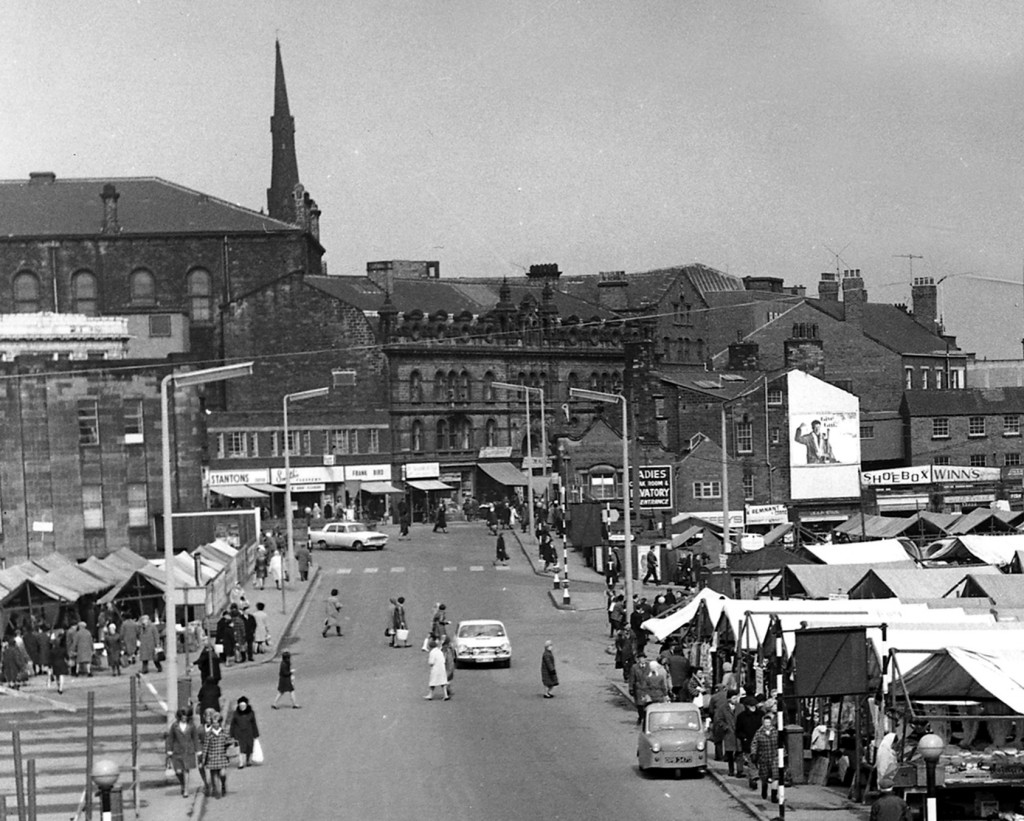 Outdoor Market, Barnsley, Exact date unknown.