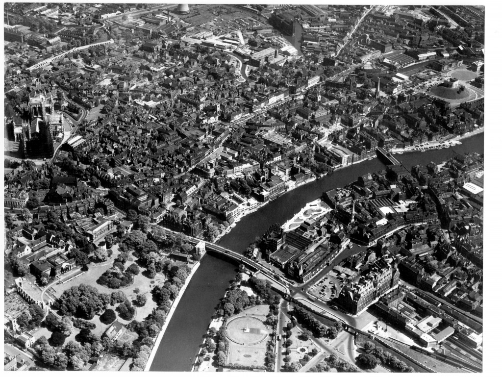 Aerial View of York, 1959
