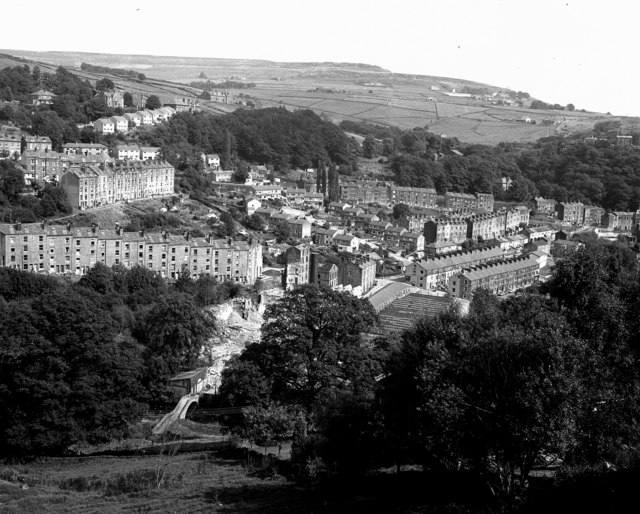 Shot of Hebden Bridge