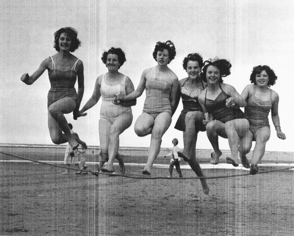 Redcar beauty contest girls 1960s teesside