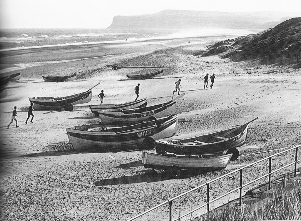 sands at Marske. teesside