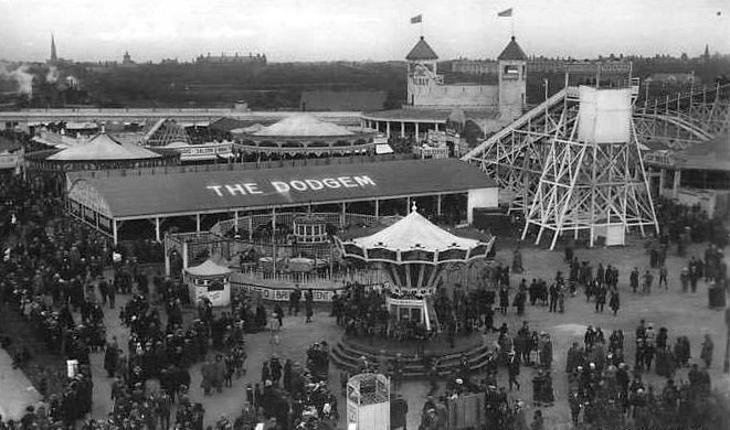 PleasureBeachand fairground southport and the ever so popular dodgems